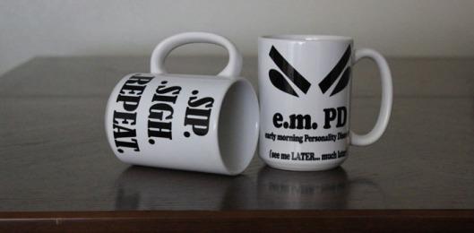 e.m.PD mugs