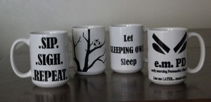 e.m.PD mug collection