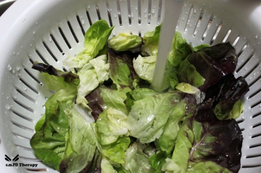 Wash Your Lettuce!