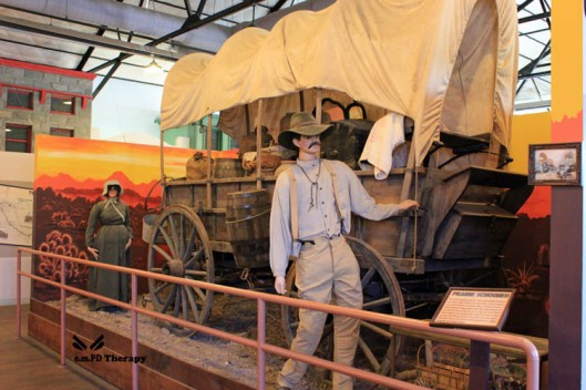 covered wagon travel